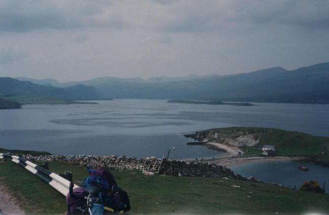 Loch Eriboll its a long war round